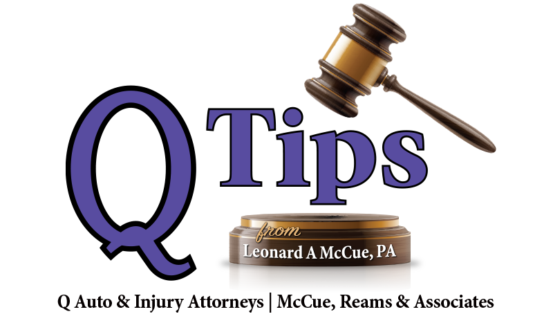 Q-Tips from Leonard A. McCue