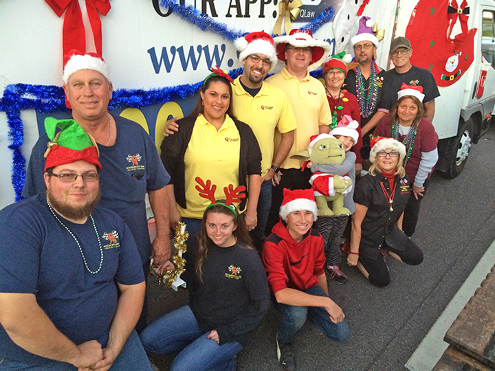Pinellas Park Christmas Parade 2