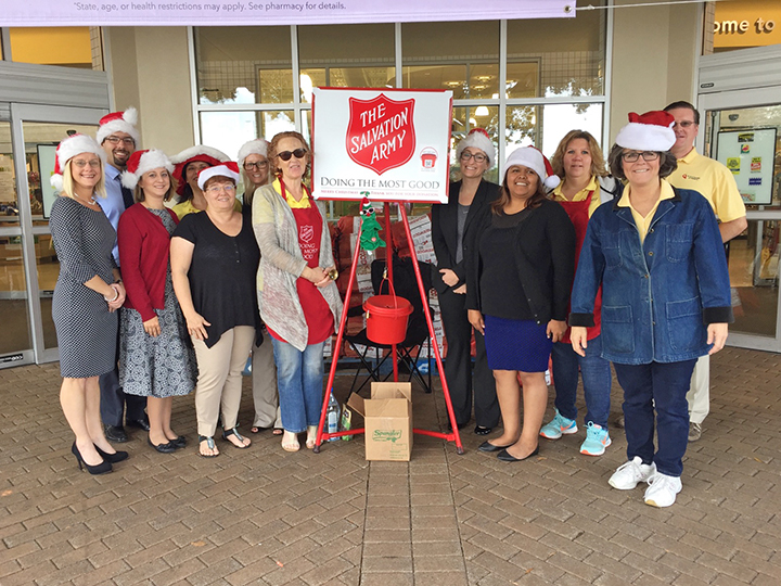 Our Salvation Army Bell Ringers