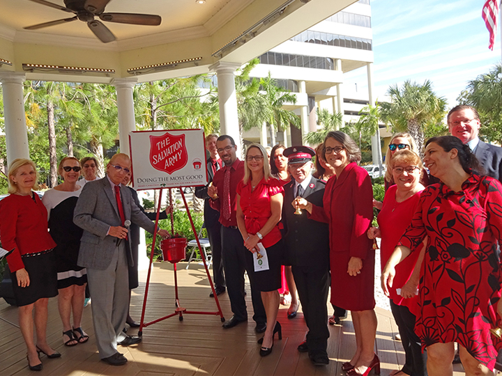 Salvation Army Christmas Kettle Kick-Off