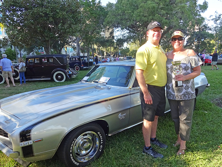 StPete Yacht Club Car Show - Winning 69 Camaro