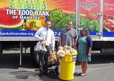 Our Food Bank Food Drive Volunteers