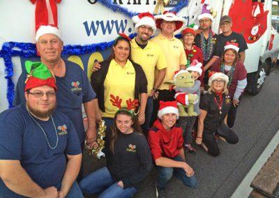 The Pinellas Park Christmas Parade