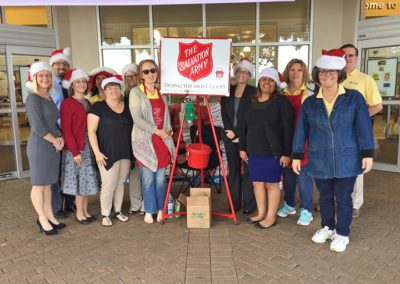 Our Salvation Army Bell Ringing Crew